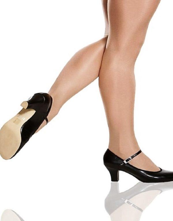 Παπούτσια παραδοσιακού χορού με μπαρέτα-Character Kickline
