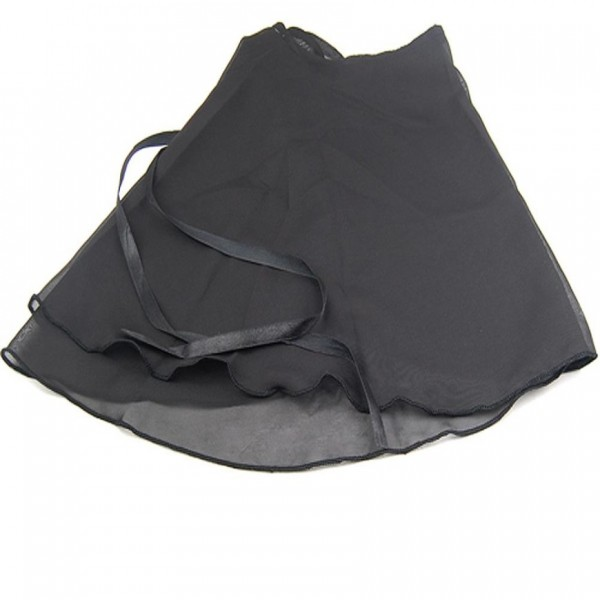 Παιδική φούστα από σιφόν ύφασμα δετή με κορδόνι στη μέση.