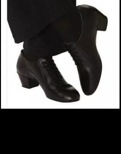 Ανδρικά Παπούτσια Χορού με Cuban heel 5″