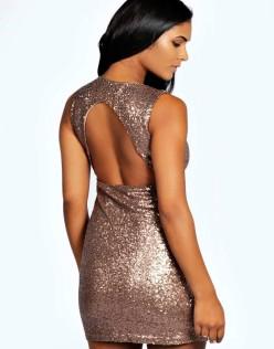 Φόρεμα με παγιέτες γυναικείο