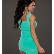 Ασύμμετρο μίνι φόρεμα χορού