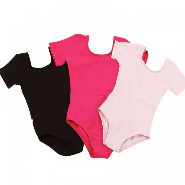 Ρούχα Μπαλέτου (Παιδικό κορμάκι κοντομάνικο)