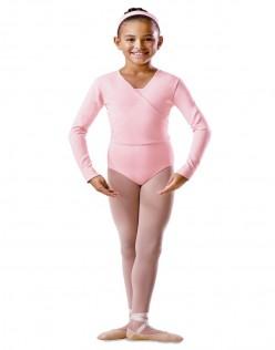 Μακρυμάνικη παιδική ζακέτα χορού Bloch BU501C