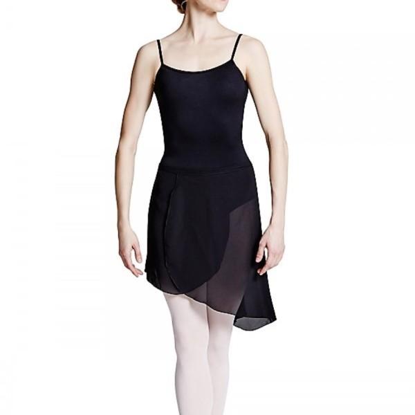 Ασύμμετρη μαύρη φούστα - Bloch R8811