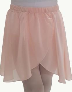 Παιδική φούστα μπαλέτου κρουαζέ με λάστιχο στη μέση