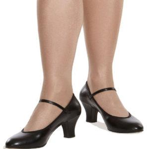 Παπούτσια παραδοσιακού χορού με μπαρέτα