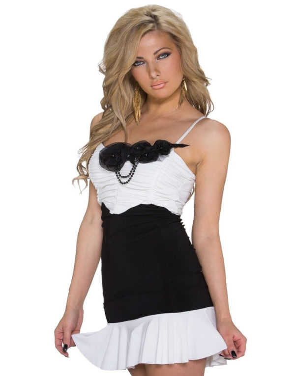 Αμάνικο γυναικείο φόρεμα