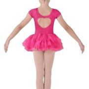 Κορμάκι με φούστα ενσωματωμένη από τούλι - CL8012