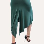 Φούστα tango σε πράσινο - μπεζ χρώμα