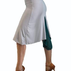 Τάνγκο φούστα σε γκρι - πράσινο χρώμα