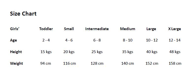 size chart gd