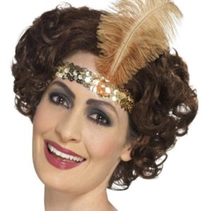 74153efbb2a Headband with feather in 3 colors