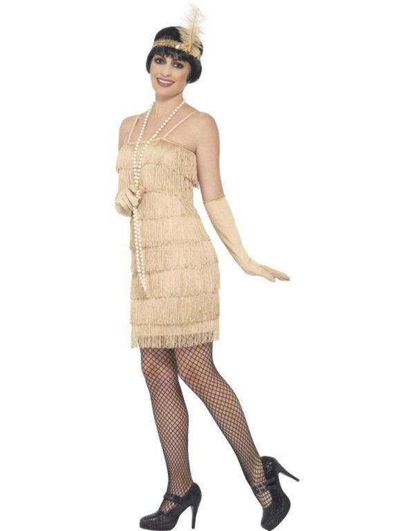 Φόρεμα λάτιν με κρόσια