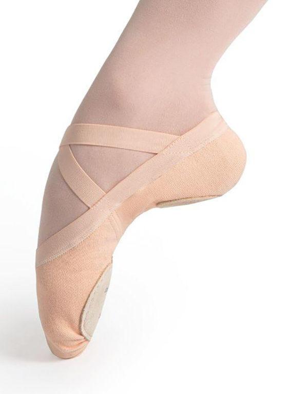Υφασμάτινα δίσολα παπούτσια μπαλέτου S0625G